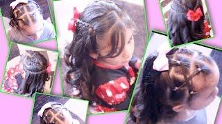 getlinkyoutube.com-Peinados De Fiesta Para Niña | Peinados Para Niña MarceAlDescubierto