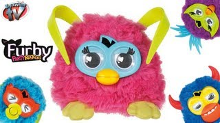 """getlinkyoutube.com-Furby Party Rockers """"Pink"""" 2013 Electronic Toy Review, Hasbro"""