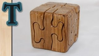 getlinkyoutube.com-Woodworking Project | Puzzle Cube