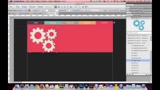 getlinkyoutube.com-Adobe Muse CC 7.0 Tutorial   Beautiful Graphic Navigation