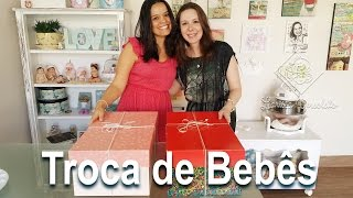 getlinkyoutube.com-Troca de Bebês Reborn com a Artista Cegonha Renata Mota