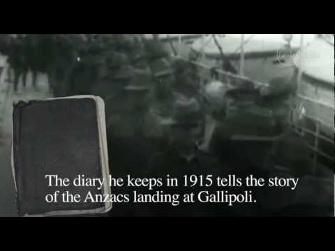 Diary of a Gallipoli soldier