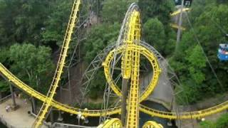 getlinkyoutube.com-Loch Ness Monster Front Seat on-ride widescreen POV Busch Gardens Williamsburg
