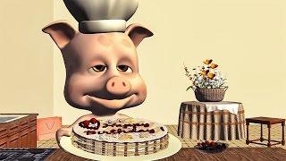 getlinkyoutube.com-Funny Happy Birthday Song. Piggy singing Happy Birthday To You