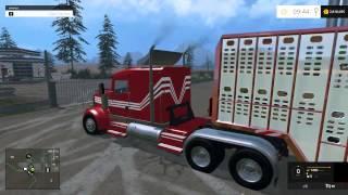 getlinkyoutube.com-Farming Simulator 2015 Mods- Dodge Cummins 2500 4X4, Gehl skid steer, Cat Loader