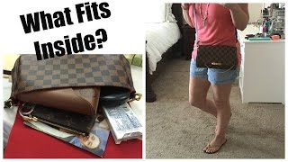 getlinkyoutube.com-Louis Vuitton Favorite MM Review + What Fits Inside?