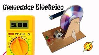 getlinkyoutube.com-Como Hacer un Generador Eléctrico Casero (Energía gratis)