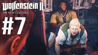 Wolfenstein 2: The New Colossus #7 - EITA RAPAZ KKKK  - Dublado PT-BR
