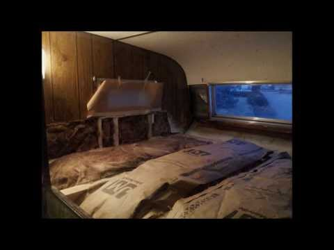1978 Hallmark Truck Camper Project - Re-framing Water Damaged Overhead Cab Bunk - Update 1/9-1/17/14