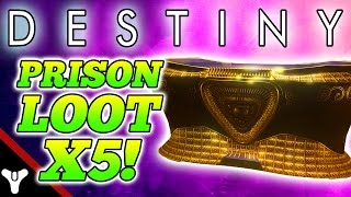 "getlinkyoutube.com-Destiny: ""QUEENS CHEST LOOT!"" Destiny Prison of Elders Loot CHEST!"