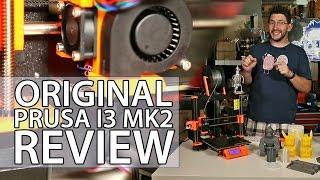 getlinkyoutube.com-3D Printing: Original Prusa i3 mk2 3D Printer Review