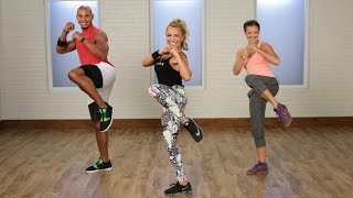 getlinkyoutube.com-45-Minute Epic Cardio Boxing Workout | Class FitSugar