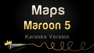 getlinkyoutube.com-Maroon 5 - Maps (Karaoke Version)