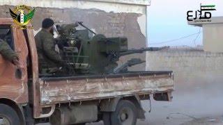 getlinkyoutube.com-فرقة السلطان مراد: استهداف قوات تنظيم داعش بمدفع عيار\23\على جبهة قرية قرة مزرعة في ريف حلب الشمالي