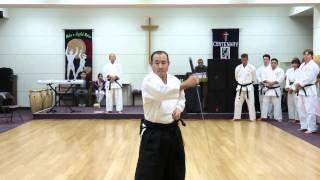getlinkyoutube.com-Kevin Suzuki Iaido at Matsubayashi Shorin-ryu of Little Tokyo Shinnen Kai