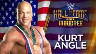 Vídeo de ls presentación de Kurt Angle en el WWE Hall of Fame