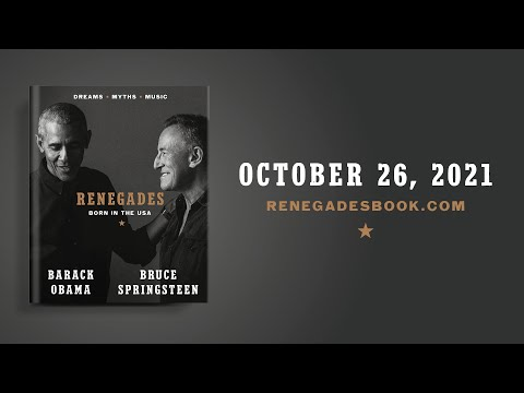 Renegades: Born in the USA by Barack Obama & Bruce Springsteen