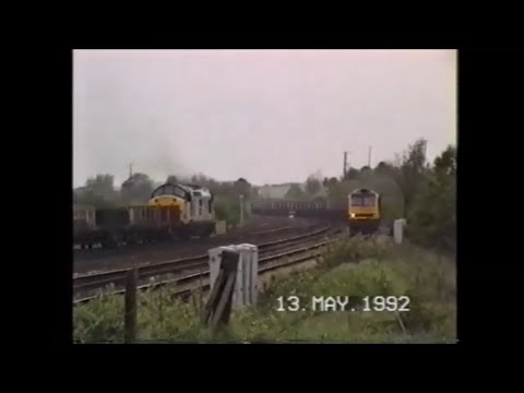 Trains In The 1990's  Clay Cross, 13th May 1992 Part 1)