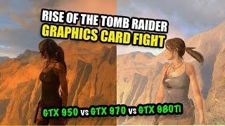 getlinkyoutube.com-Rise of the Tomb Raider - GPU FIGHT! GTX 980Ti vs GTX 970 vs GTX 950