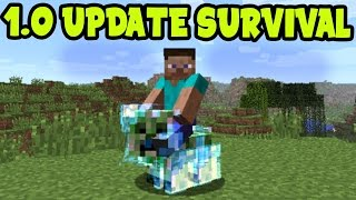 getlinkyoutube.com-[1.0 UPDATE] Minecraft Pocket Edition 1.0 Update Gameplay!! MCPE 1.0 Survival Addon and Behaviors