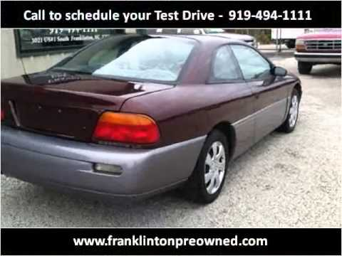 1995 chrysler sebring problems online manuals and repair for 2002 sebring power window problem