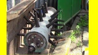 getlinkyoutube.com-Перосъемная машина Процесс постройки