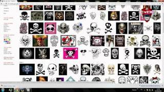 getlinkyoutube.com-Créer un  logo soi Même avec photofiltre