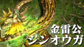 getlinkyoutube.com-【MHX実況】なっちの狩り日記X《3》金雷公ジンオウガ 【モンハンクロス】