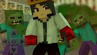 getlinkyoutube.com-Minecraft PE 0.13.1 - TheWalkingCraft MOD IGUAL DE PC!