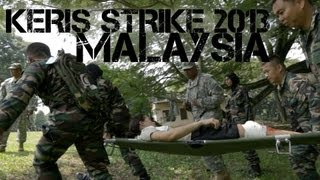 getlinkyoutube.com-Malaysia and U.S. Military Exercise - Keris Strike