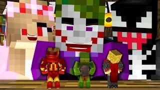 getlinkyoutube.com-Minecraft School : EVIL KELLY & THE JOKER SHRINK US!