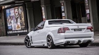 "getlinkyoutube.com-Holden HSV Maloo E-Series Ute on 20"" Amásso Trinidy Wheels / Rims / Staggered"