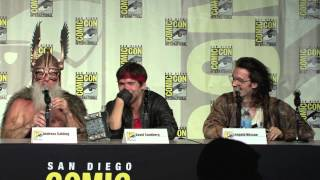 getlinkyoutube.com-Kung Fury Comic Con Panel 2015