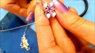 getlinkyoutube.com-DIY tutorial modulo superduo o twin beads swarovski semplice,veloce Italian and English
