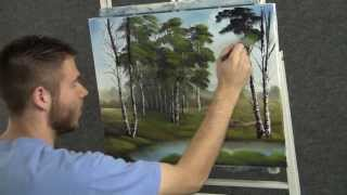 getlinkyoutube.com-Paint with Kevin Hill - Quiet Birch Trees