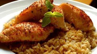 getlinkyoutube.com-الارز التونسي بالدجاج - Riz avec du poulet - Rice with chicken - المطبخ التونسي - Tunisian Cui.