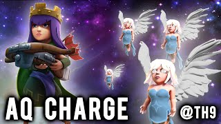 getlinkyoutube.com-TH9 Strategy | The AQ Charge | Clash of Clans