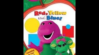 getlinkyoutube.com-Barney Red Yellow And Blue Dvd Menu