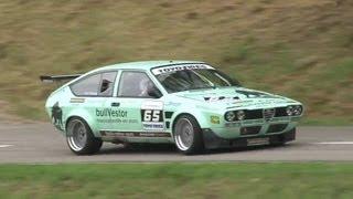 getlinkyoutube.com-Hillclimb Bergrennen Reitnau - great Alfa Romeo GTV Opel Kadett GTE BMW E30 Porsche 935 Turbo FV22