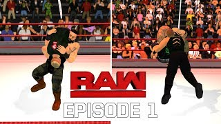WWE RAW episode 1- WR3D