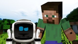 getlinkyoutube.com-If Robots Were In Minecraft