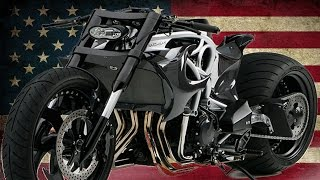 "getlinkyoutube.com-Suzuki GSX-R Hayabusa ""Serpent"" by Ransom Motorcycles 