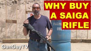 Why buy a Saiga 7.62 rifle?