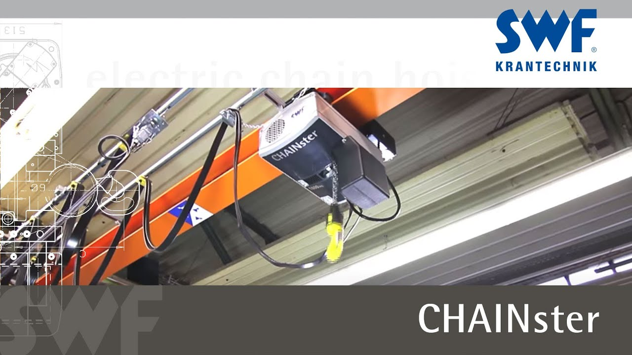 SWF Krantechnik - CHAINster electric chain hoist