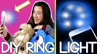 getlinkyoutube.com-DIY a PHONE SELFIE ring light