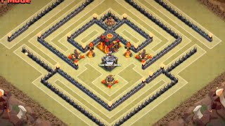 getlinkyoutube.com-War Base SpeedBuild - Max TH10 - Clash Of Clans