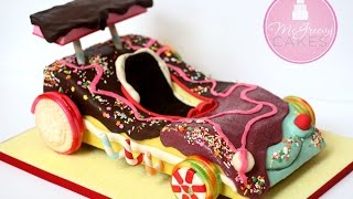 getlinkyoutube.com-Creating a Candy Car Cake by McGreevy Cakes