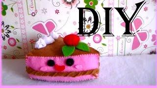 getlinkyoutube.com-paso a paso Trozo de torta/ peluche kawaii.◕ ‿‿ ◕  /Jesi Rose