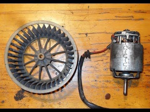 Ремонт мотора печки пассат Б3