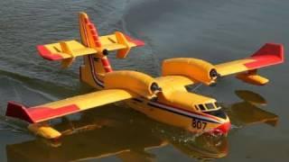 getlinkyoutube.com-The New Canadair CL-415 Water Bomber Amphibious Plane
